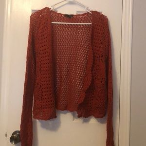 Lot of 2 crocheted sweaters